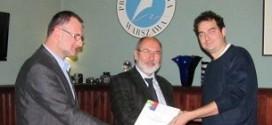 Uroczyste ogłoszenie laureatów konkursu Visegrad w siedzibie Press Club w Warszawie
