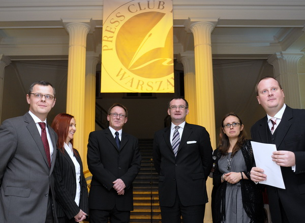 Inauguracja działalności Press Clubu w Polsce w 2009 roku.