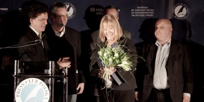 Joanna Solska i Leszek Będkowski laureatami Nagrody im. Dariusza Fikusa 2012