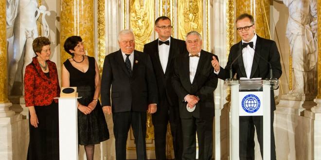 Uroczystość wręczenia Nagrody Wolności Słowa