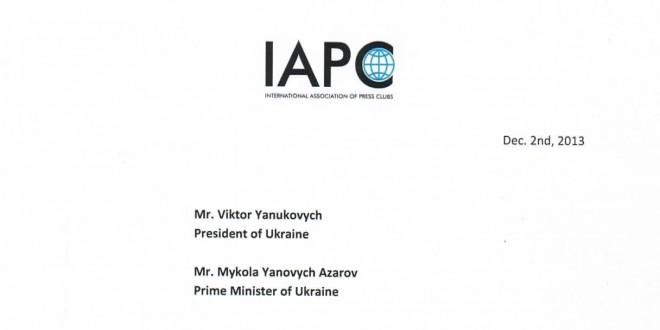 IAPC wzywa władze ukraińskie do natychmiastowego zaprzestania użycia siły wobec dziennikarzy i pracowników mediów