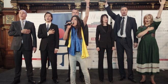 Nagroda Lecha Wałęsy 2014 dla Euromajdanu