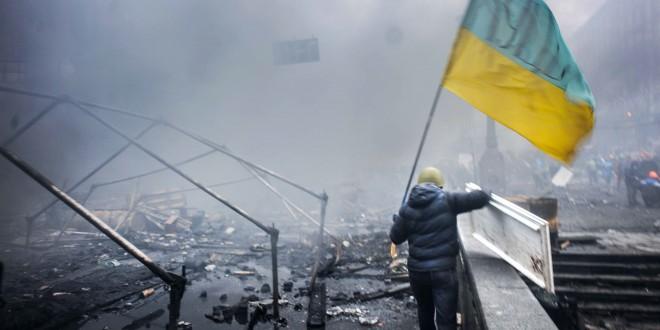 """Otwarcie wystawy """"Majdan"""" przed Pałacem Prezydenckim"""