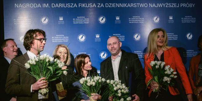 Rafał Woś laureatem Nagrody im. Dariusza Fikusa 2015