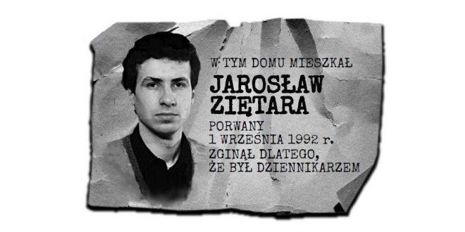 Trwa zbiórka społeczna na tablicę pamięci Jarosława Ziętary