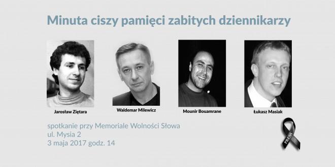 Uczczenie zabitych dziennikarzy