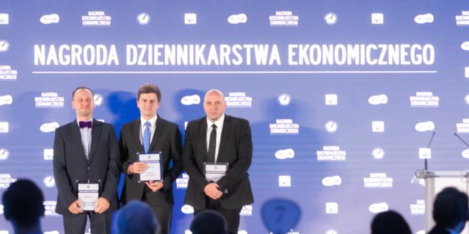 Leszek Baj, Vadim Makarenko i Piotr Skwirowski laureatami Nagrody Dziennikarstwa Ekonomicznego Press Club Polska 2017