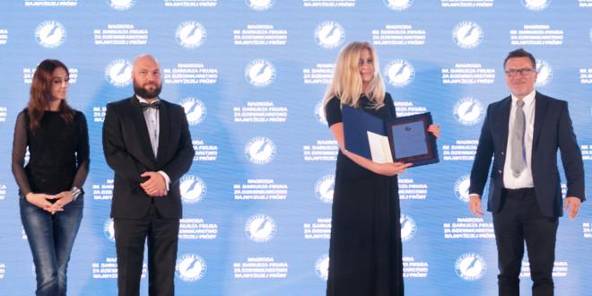 Magdalena Rigamonti laureatką Nagrody im. Dariusza Fikusa za dziennikarstwo najwyższej próby