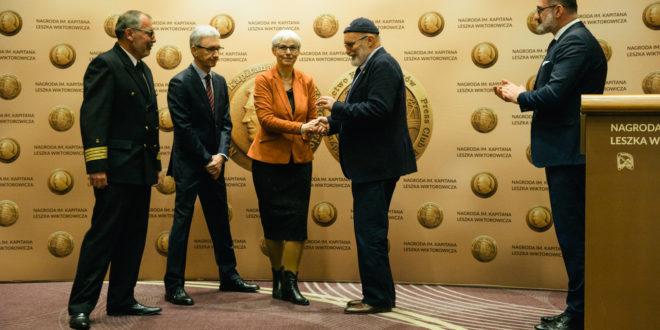 Piotr Kulczycki odebrał Nagrodę im. Kapitana Leszka Wiktorowicza 2018