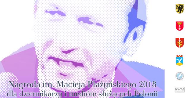 Poznaliśmy laureatów Nagrody im. Macieja Płażyńskiego 2018