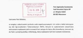 PCP pyta Sejm o termin przywrócenia wydawania dziennikarzom jednorazowych kart wstępu
