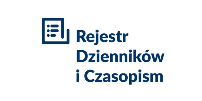 Po raz pierwszy Rejestr Dzienników i Czasopism jest dostępny w internecie