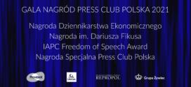 Gala Nagród Press Club Polska 2021